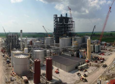 DuPont's Nevada IA plant.  This project is under construction and scheduled to reach mechanical completion at the end of the year; it was not one of the original 2007 DoE-supported projects.